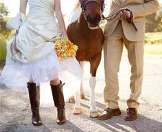 This is what I'll see when my daughter shows me the shoes she'll be wearing for her wedding.