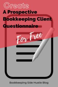 How to create a slick and easy-to-use online prospective bookkeeping client questionnaire to send your prospective clients before your first consult. Bookkeeping Training, Online Bookkeeping, Bookkeeping Business, Accounting Career, Accounting Software, How To Get Clients, Questionnaire, Show Me The Money, Work From Home Opportunities