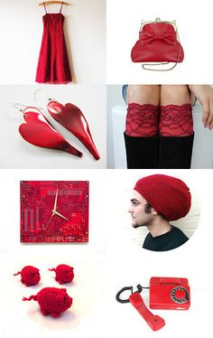 Red = Hot! by NikkiBebe on Etsy--Pinned with TreasuryPin.com