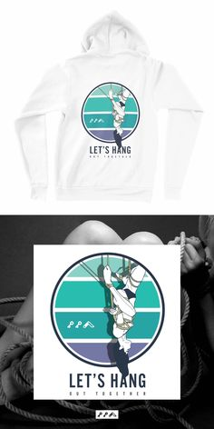 the LET'S HANG woman tied up rope play hoodie sweatshirt is made of fleece fabric which makes this so soft you're never gonna wanna take it off! Women Ties, Fleece Hoodie, Fleece Fabric, Hoodies, Sweatshirts, Kinky, Let It Be, Unisex, Hoodie