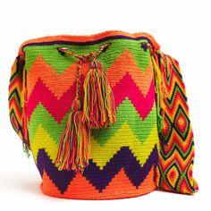 Handmade Wayuu Boho Bags | WAYUU TRIBE Crochet Patterns, Fair Trade – SHOP MOCHILAS WAYUU BAGS | FREE SHIPPING