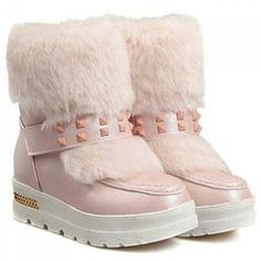 """SKU: NRT0WEG5TG04V82 Colors: Black, Pink. Size: 37, 38. Price: US$44.91 | PKR 4749 Category: Shoes->Boots Weight: 1kg… #Vivoren #Fashion"