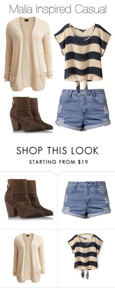 """""""Malia Inspired Casual"""" by marisaborek ❤ liked on Polyvore featuring rag & bone, Somedays Lovin and VILA"""