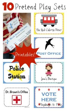 ... Pretend Play on Pinterest   Pretend play, Cardboard boxes and Baby zoo
