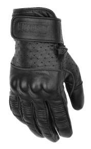 Perforated leather on top of glove. Reinforced knuckles for added protection. Hook-and-loop wrist closure. Leather Work Gloves, Leather Motorcycle Gloves, Biker Gloves, Biker Gear, Motorcycle Gear, Distressed Leather, Leather Men, Motorbike Accessories, Motorbike Leathers