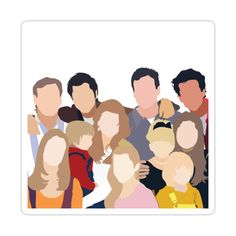 Full House Sticker by Gabriella Procopio