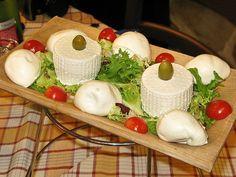 Tagliere di mozzarelle di bufala e ricottine Lazio  #TuscanyAgriturismoGiratola