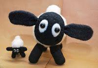 Felt Shaun the Sheep I <3 This!!