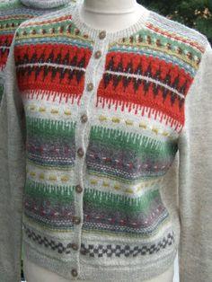 Knitting  -  Clara Stickar: Bohusstickning