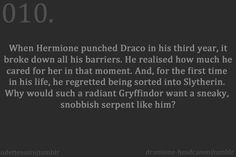 Welcome to dramione-headcanon. We've only just created this blog so things are running a bit slowly,...