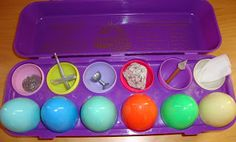 Resurrection Eggs - telling the story of Easter one symbol at a time. Make your own!