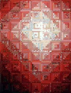 T-Ruby by Linda Rotz Miller Quilts & Quilt Tops, via Flickr