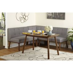 Shop Simple Living 4 piece Playmate Nook Dining Set - Free Shipping Today - Overstock - 13432052