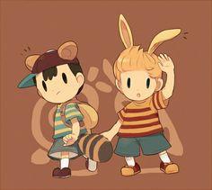 Tanooki Ness & Bunny Lucas.