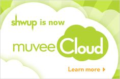 Shwup is now muvee Cloud!  You and your friends can upload pictures and videos to an invitation only album.  No signing in needed for guiest. You can make movies from all the uploads.