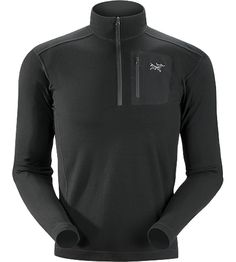 Rho LTW Zip Neck Men's <div class='outdoormbdata'>MAPP Merino wool base layer jersey.</div> <div class='leafmbdata'>Rho LTW layers provide a close-fitting garment that maintains its shape and aids in transferring moisture away from the body.</div>