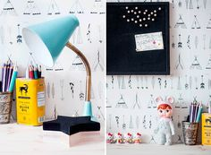 An Art Space with Bohemian Vibes + Japanese Woodland Doll