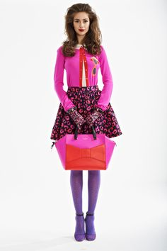 kate spade | kate-spade-new-york-fall-2013 absolutely in love with this look <3