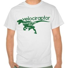 Velociraptor Awareness Day T Shirt