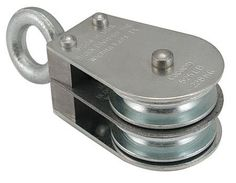 1/4 Max. cable size, 685 Max. load lbs., Block, Swivel Eye, Double Sleave (1 Each) by RSC. $28.58
