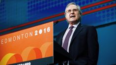 Stephen Lewis at NDP convention. Neil MacDonald for the CBC, April 2016 and see the full transcript of the SL's speech here: https://www.facebook.com/notes/the-ndp-and-the-leap-manifesto/stephen-lewis-speech-delivered-to-the-ndp-convention-edmonton-2016/1585145065132666