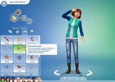 Mod The Sims: 8 Pack of Teen Exclusive Traits by CardTaken • Sims 4 Downloads
