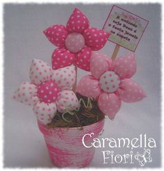 Kids Crafts, Hobbies And Crafts, Felt Crafts, Fabric Crafts, Diy And Crafts, Felt Flowers, Diy Flowers, Flower Decorations, Fabric Flowers