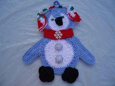 New Gift Holiday Christmas Handmade Crochet by mkhrcrochet1965, $24.00