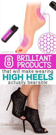 Wearing high heels can sometimes be the equivalent to stabbing yourself in the eye, which is why it's important to not only buy heels that likeyour feet, but to also take advantage of every product out there that will make them actually bearable to walk in for more than 5 minutes. Yes, this IS possible! …