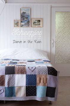 'Dance in the Rain', the Scheepjes CAL 2016 is almost ready to kick off. This wonderful design has been started by Wink from A creative Being, and has been finished by her fellow bloggers and friends in loving memory of her. Come join us in making this wonderful blanket in the #Scheepjes CAL Facebook group. For each kit sold, Scheepjes will donate 2 euro's to the charity 'Mind'.