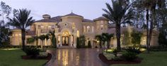 Showcase Luxury Beautiful House plan designs, blueprints for high end luxury estate traditional dream homes