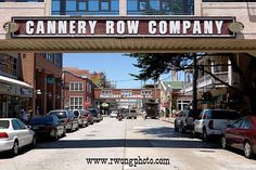 Cannery Row - Pacific Grove, California.   My dad worked there while stationed at Ford Ord, WWII