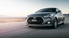 2013 VELOSTER TURBO IN MATTE GRAY. You can view the latest Veloster inventory here: http://www.larryhmillerhyundai.com/new-inventory/index.htm?model=Veloster&&&&