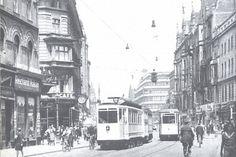 Dzisiejsza ul. Świdnicka przed II wojną światową.