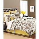 Martha Stewart Collection Bedding, Rose Charmont 9 Piece Queen Comforter Set