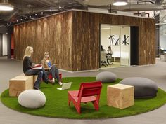 Those puffs are exactly what i was looking for!  Skype's North American Headquarters by Blitz