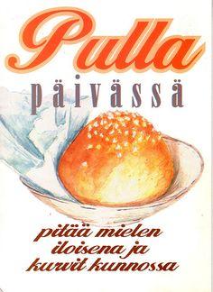 "Finnish ""pulla,"" or, loosely translated, coffee bun."