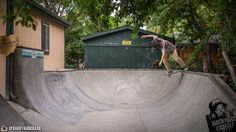 Joe Fro - BS Tail in a backyard bowl we recently completed in Colorado!