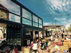 Our hipster KONTEINER #konteiner #tallinn #telliskivi Container Cafe, Street Art, Street View, Monkey, Traveling, Hipster, Life, Ideas, Viajes