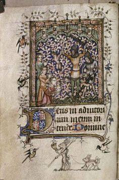 Bodl Lat. liturg. f  like the animals at the bottom