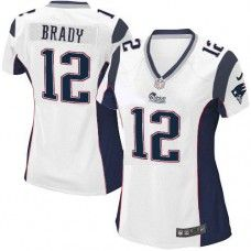 Shop for Official Womens White NIKE Game New England Patriots  12 Tom Brady  NFL Jersey ec2e55579