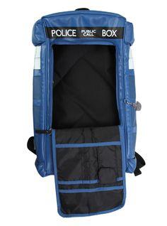 999318ef851f Doctor Who TARDIS Figural Backpack