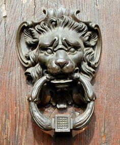 Gargoyle Door Knocker | Decorative Gargoyle Door Knocker 9 from Florence, Italy