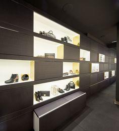 Interiorismo de la tienda de Hannibal Laguna Shoes&Accessories
