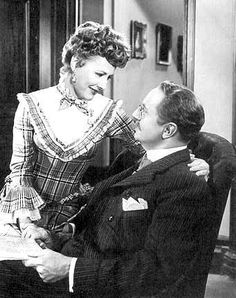 Irene Dunne (Irene Marie Dunn) in Life With Father ... So funny!!