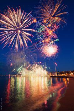 International Competition of Fireworks - Tarragona 2014 #TarragonaCity #AlexandraAparthotel #fireworks