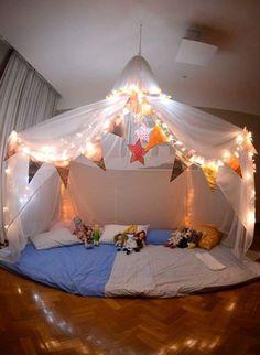 Tienda acampada