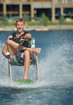 Water Ski in a Chair