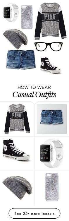 """""""Casual hipster"""" by haileyn1530 on Polyvore featuring American Eagle Outfitters, Victoria's Secret, Converse, BCBGMAXAZRIA and Muse"""