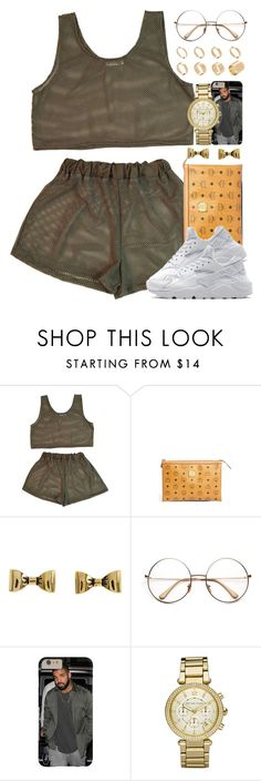 """Untitled #1579"" by power-beauty ❤ liked on Polyvore featuring CO, MCM, NIKE, Betsey Johnson, Michael Kors and ASOS"
